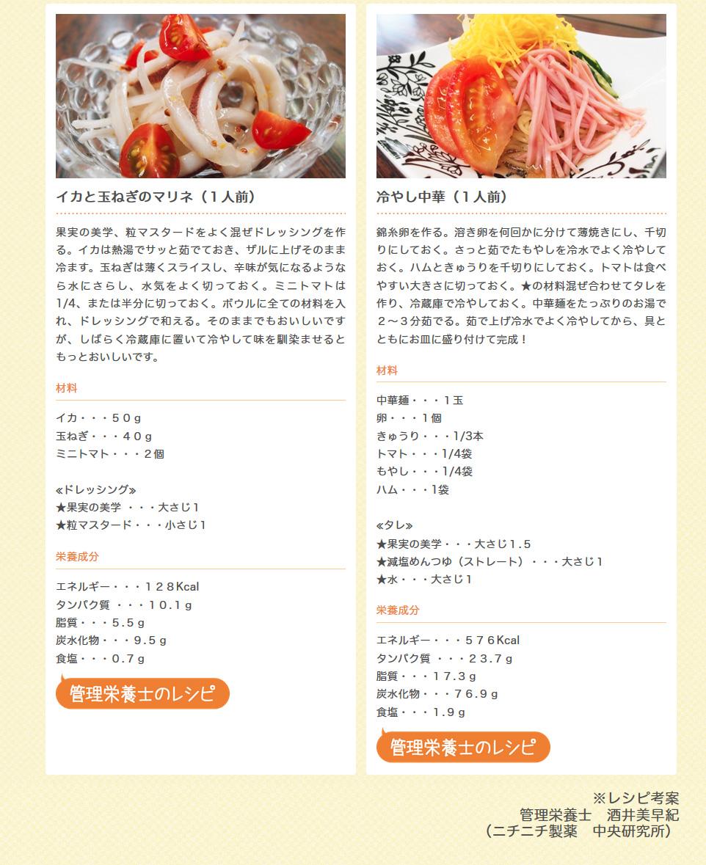 果実の美学のアレンジレシピ3